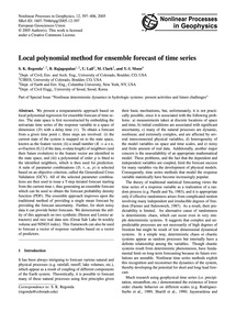 Local Polynomial Method for Ensemble For... by Regonda, S.