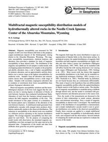 Multifractal Magnetic Susceptibility Dis... by Gettings, M. E.
