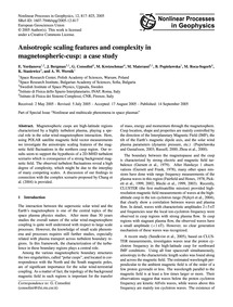 Anisotropic Scaling Features and Complex... by Yordanova, E.
