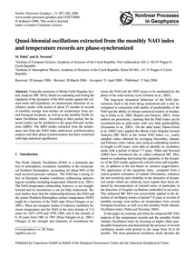 Quasi-biennial Oscillations Extracted fr... by Paluš, M.