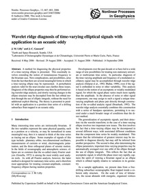 Wavelet Ridge Diagnosis of Time-varying ... by Lilly, J. M.
