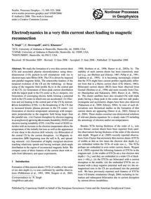 Electrodynamics in a Very Thin Current S... by Singh, N.