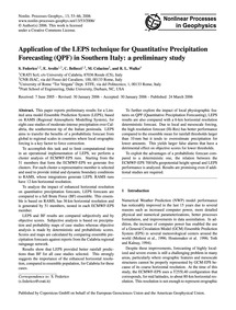 Application of the Leps Technique for Qu... by Federico, S.