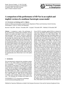 A Comparison of the Performance of 4D-va... by Terwisscha Van Scheltinga, A. D.