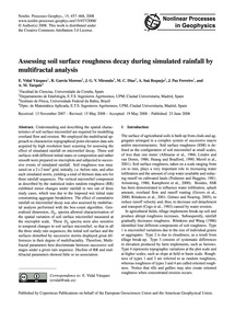 Assessing Soil Surface Roughness Decay D... by Vidal Vázquez, E.