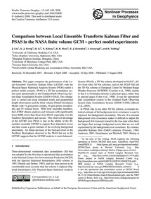 Comparison Between Local Ensemble Transf... by Liu, J.