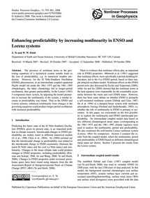 Enhancing Predictability by Increasing N... by Ye, Z.