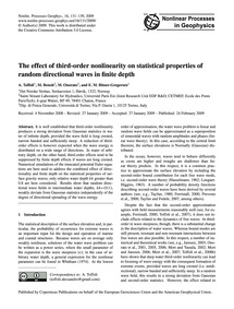 The Effect of Third-order Nonlinearity o... by Toffoli, A.