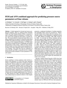 Fem and Ann Combined Approach for Predic... by Di Stefano, A.