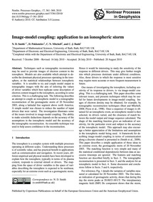 Image-model Coupling: Application to an ... by Smith, N. D.