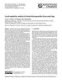 Local Regularity Analysis of Strata Hete... by Gaci, S.