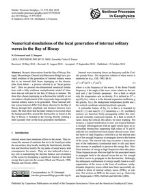 Numerical Simulations of the Local Gener... by Grisouard, N.