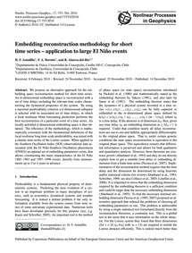 Embedding Reconstruction Methodology for... by Astudillo, H. F.