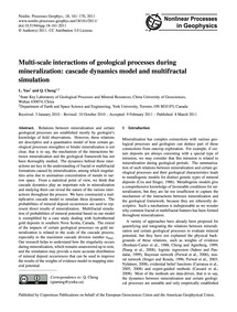 Multi-scale Interactions of Geological P... by Yao, L.
