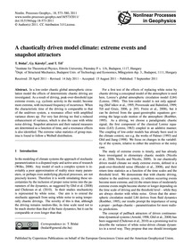 A Chaotically Driven Model Climate: Extr... by Bódai, T.