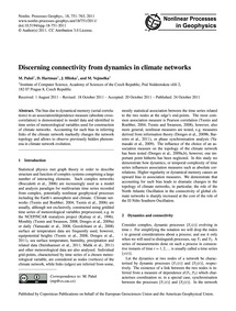 Discerning Connectivity from Dynamics in... by Paluš, M.