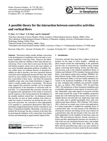 A Possible Theory for the Interaction Be... by Zhao, N.