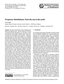 Frequency Distributions: from the Sun to... by Cros, N. B.