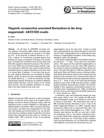 Magnetic Reconnection Associated Fluctua... by Vörös, Z.