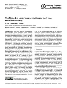 Combining 2-m Temperature Nowcasting and... by Kann, A.