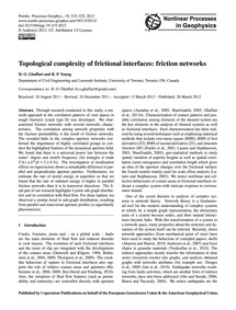 Topological Complexity of Frictional Int... by Ghaffari, H. O.
