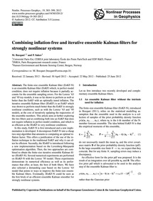 Combining Inflation-free and Iterative E... by Bocquet, M.