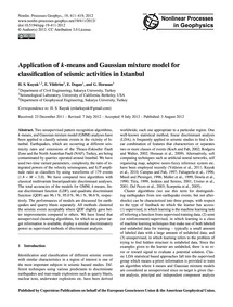 Application of K-means and Gaussian Mixt... by Kuyuk, H. S.