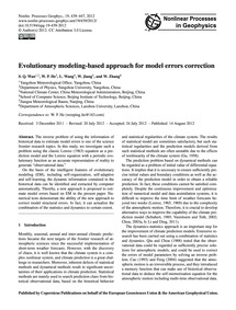 Evolutionary Modeling-based Approach for... by Wan, S. Q.