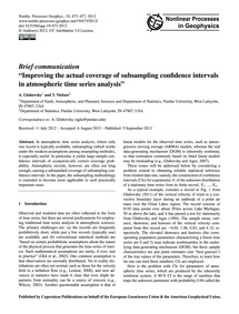 Brief Communication Improving the Actual... by Gluhovsky, A.