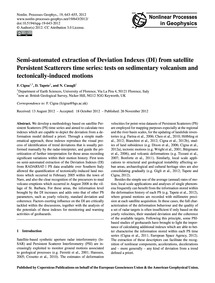 Semi-automated Extraction of Deviation I... by Cigna, F.