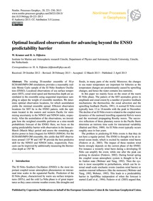 Optimal Localized Observations for Advan... by Kramer, W.