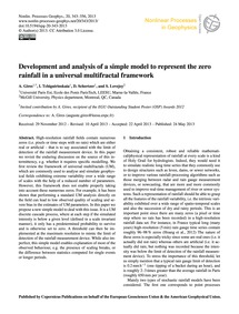 Development and Analysis of a Simple Mod... by Gires, A.
