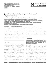 Quantifying Soil Complexity Using Networ... by Samec, M.