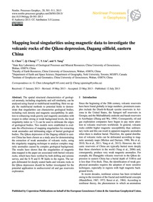 Mapping Local Singularities Using Magnet... by Chen, G.