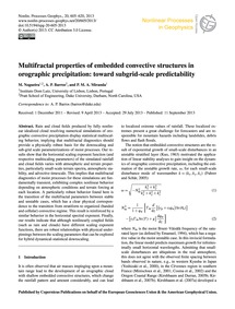Multifractal Properties of Embedded Conv... by Nogueira, M.