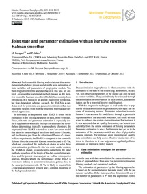 Joint State and Parameter Estimation wit... by Bocquet, M.