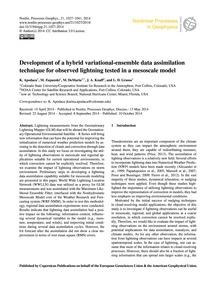 Development of a Hybrid Variational-ense... by Apodaca, K.