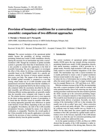 Provision of Boundary Conditions for a C... by Marsigli, C.