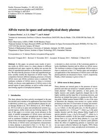 Alfvén Waves in Space and Astrophysical ... by Jatenco-pereira, V.