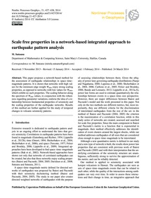 Scale Free Properties in a Network-based... by Suteanu, M.