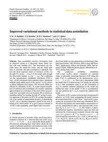 Improved Variational Methods in Statisti... by Ye, J.