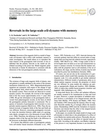 Reversals in the Large-scale Αω-dynamo w... by Feschenko, L. K.