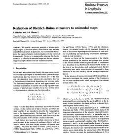 Reduction of Dietrich-ruina Attractors t... by Shkoller, S.