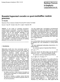 Bounded Lognormal Cascades as Quasi-mult... by Menabde, M.