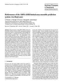 Performance of the Arpa-smr Limited-area... by Montani, A.
