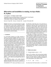 Bifurcations and Instabilities in Rotati... by Lovegrove, A. F.