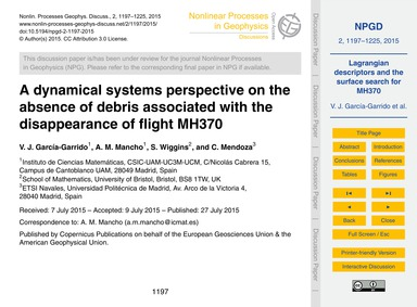 A Dynamical Systems Perspective on the A... by García-garrido, V. J.