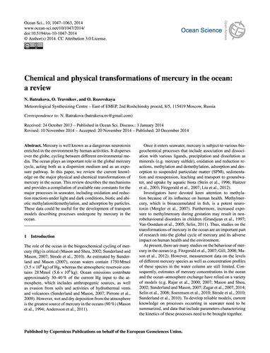 Chemical and Physical Transformations of... by Batrakova, N.