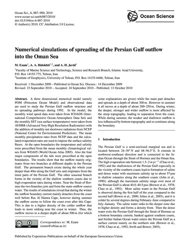 Numerical Simulations of Spreading of th... by Ezam, M.