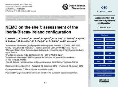 Nemo on the Shelf: Assessment of the Ibe... by Maraldi, C.
